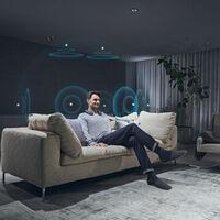 Sony presenta el SRS-NS7, un altavoz inalámbrico con Dolby Atmos para la tele que tendrás que llevar sobre los hombros