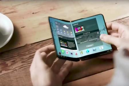 Samsung Galaxy X smartphone plegable