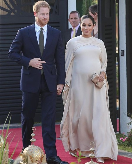meghan markle looks de embarazada