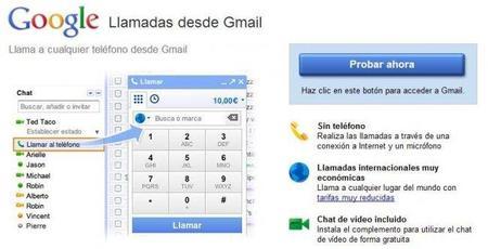Las llamadas de Gmail se expanden a varios países incluyendo México (por lo menos eso dicen en el blog oficial)