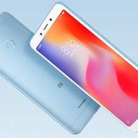 Xiaomi Redmi 6 y Redmi 6A: la gama básica del fabricante chino incorpora cámara doble y se pasa a MediaTek