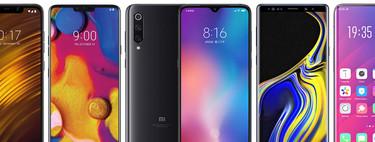 Xiaomi Mi 9, comparativa: así queda contra OnePlus 6T, OPPO FindX, LG V40, Galaxy Note 9 y resto de gama alta Android