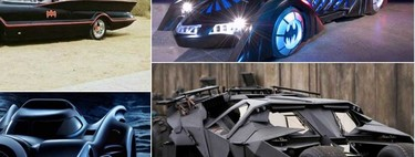 Batimóvil, así ha evolucionado el auto del Hombre Murciélago en medio siglo
