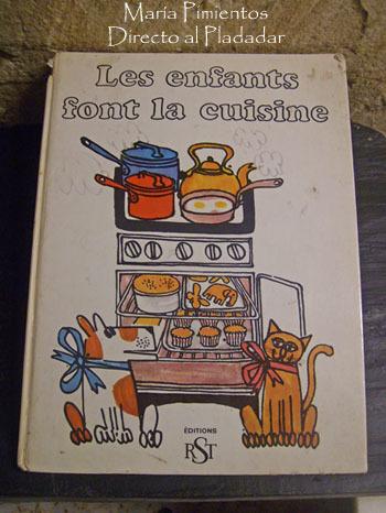 Les Enfants font la cuisine. Cocina ilustrada para niñ@s