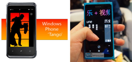 Windows Phone Tango y sus limitaciones para el mercado chino
