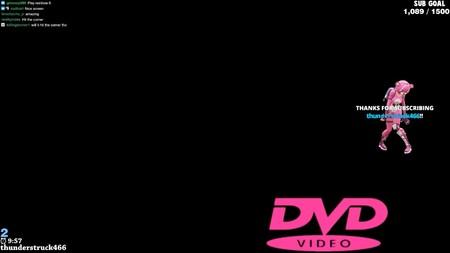 Miles de personas están siguiendo este streaming en directo para ver si el logo de DVD rebota en la esquina