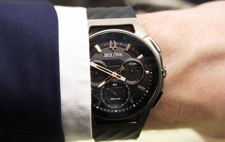 Reloj Curv Chronograph Bulova: la curva de la excelencia