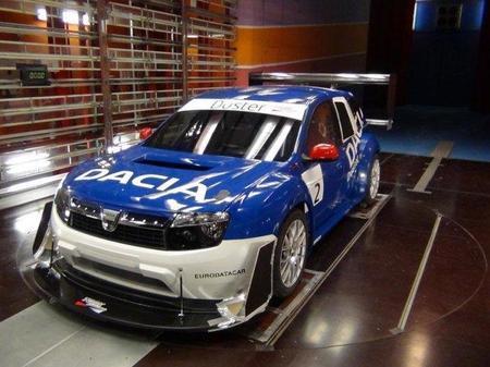 Este es el aspecto final del Dacia Duster del Pikes Peak