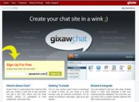 Gixaw Chat, servicio para la creación de espacios de chat