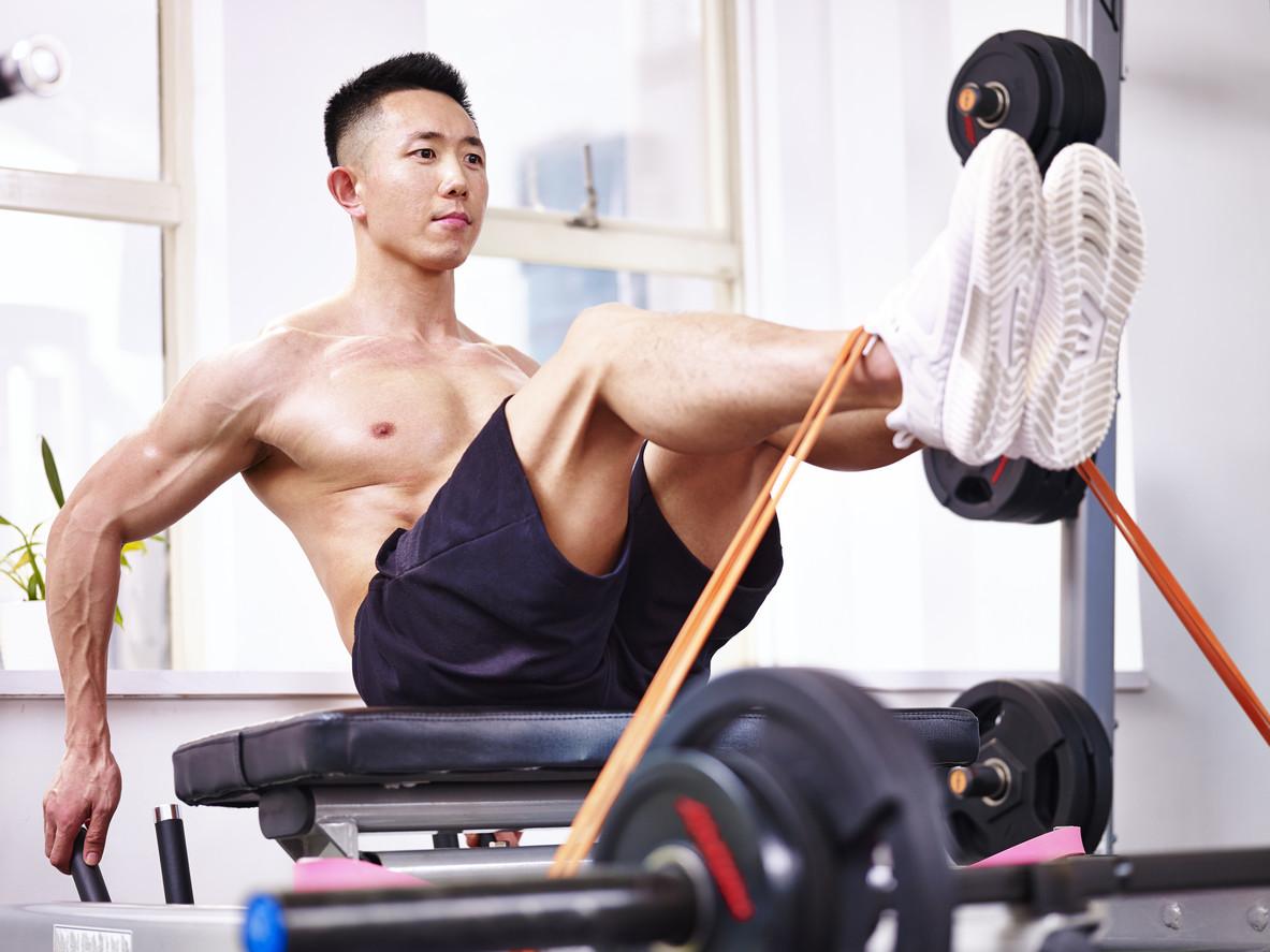 como hacer pierna en casa para hombres
