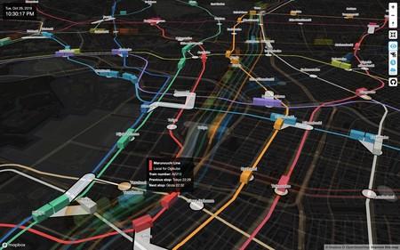 Mapa Metro Tokio 3d Tiempo Real 2