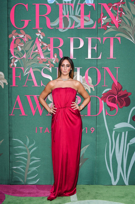 Elisa Taviti green carpet fashion awards 2019