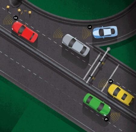 Coches que se envían mensajes continuamente: más intentos para aumentar la seguridad del tráfico