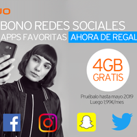 Simyo regala su bono de 4 GB para redes sociales durante dos meses