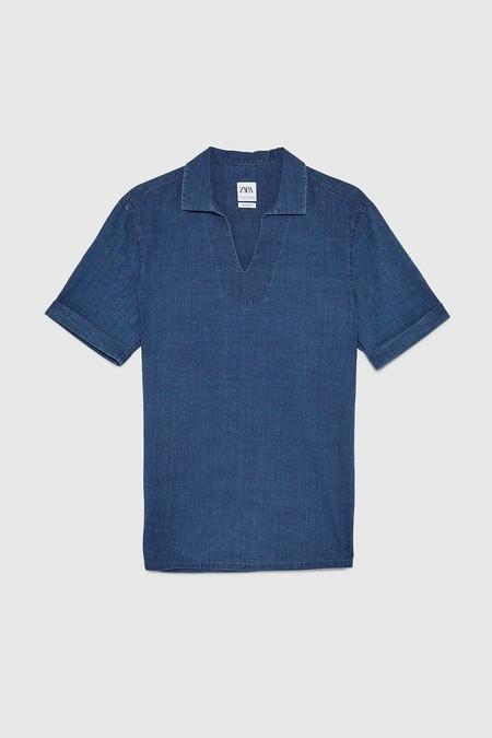 Doce Piezas Infalibles De Zara Para Adoptar El Color Del 2020 El Clasic Blue En Nuestros Looks