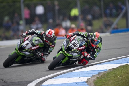 Jonathan Rea Tom Sykes Kawasaki Racing Team Worldsbk 2016