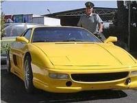 Así es el Ferrari 355 GTS falsificado