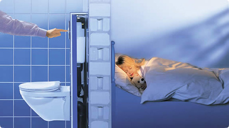 Inodoros y bidets suspendidos ventajas e inconvenientes - Instalacion inodoro suspendido ...