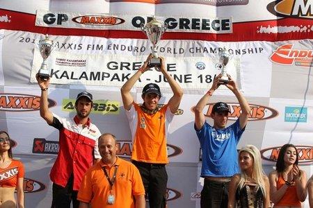 Quinta prueba Campeonato del Mundo de Enduro 2011: Grecia