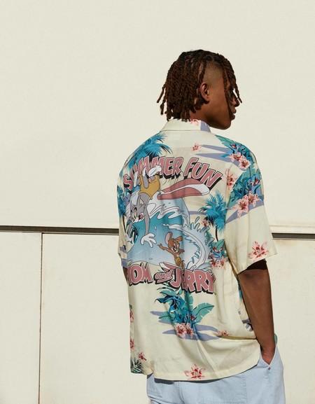 Camisas Manga Corta Estampadas 03