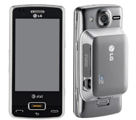 LG eXpo, con lector biométrico de huellas y pico proyector opcional