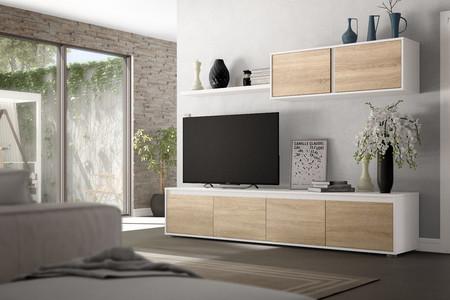 Por 319 euros podemos decorar todo nuestro salón con este pack de muebles en eBay