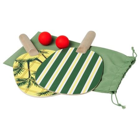 Solblekt Racket And Ball Set Green 0824990 Pe776216 S5