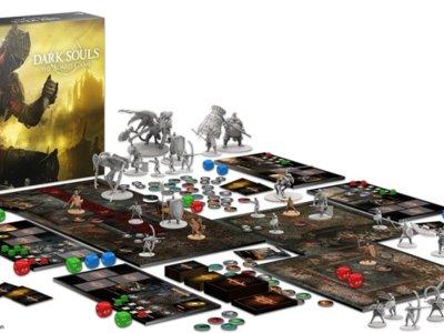 Un juego de mesa de Dark Souls logra ser financiado en Kickstarter en cuestión de minutos