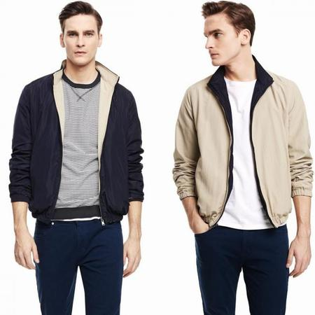 HE by Mango Reversible Bomber Jacket