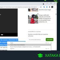 Cómo compartir un enlace a un texto resaltado dentro de una web en Chrome