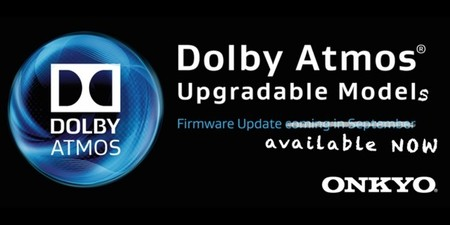 Las actualizaciones  Dolby Atmos para receptores de Onkyo y Pioneer ya están disponibles