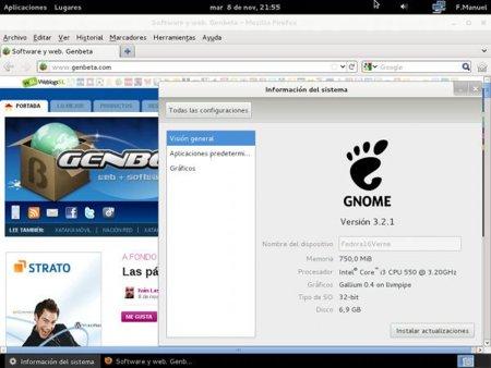 Fedora 16 Verne lanzada y dedicada a Dennis Ritchie
