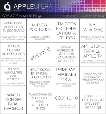 Bingo Applesfera WWDC2014