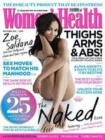 Zoe Saldana se marca un Terelu en Women's Health