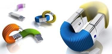 Memory Infinite, discos USB que se concatenan