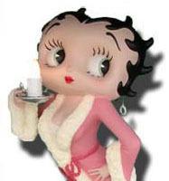 Figuras de resina: ¿Y si Betty Boop te esperara en el salón?