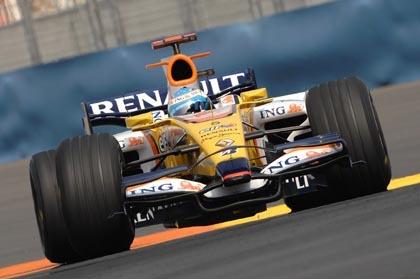 La carrera más corta del año para Alonso