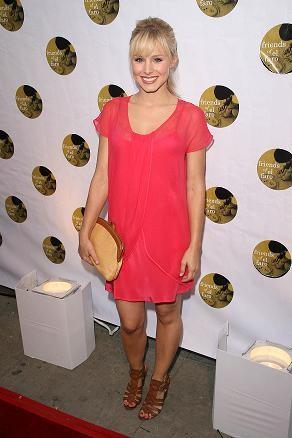 El look diez de Kristen Bell
