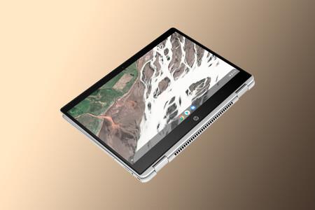 Ordenador portátil y tableta dos en uno con el convertible HP Chromebook x360 a 339,15 euros en El Corte Inglés