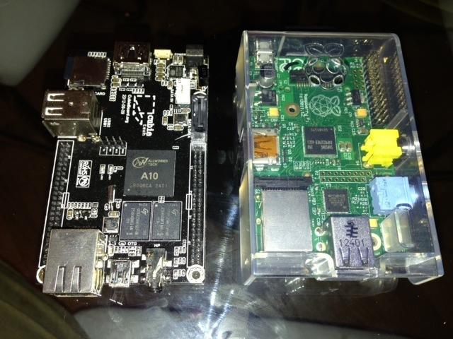 Cubieboard y Raspberry Pi