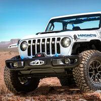 El Jeep Magneto Concept es un auténtico Wrangler eléctrico... ¡y con cambio manual!