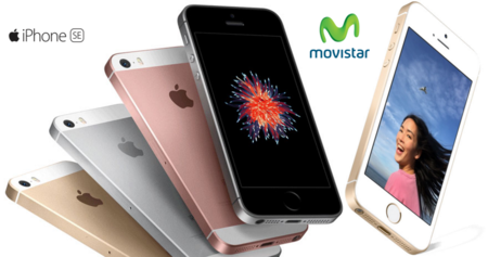 Precios iPhone SE de 16 y 64 GB con Movistar