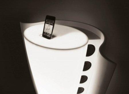 Horn, base diferente y exclusiva para el iPod de Apple