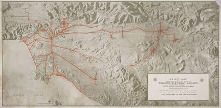Cobertura de Los Ángeles Pacific Electric Railway - 1920