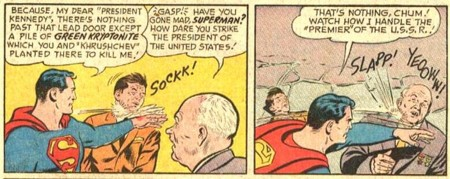Superman vs President