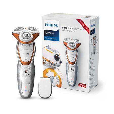Afeitadora Philips Star Wars SW5700/07, con cuchillas ComfortCut, por 75 euros y envío gratis