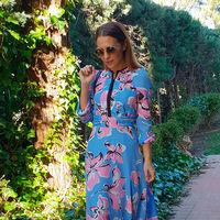 Paula Echevarría luce el maxi vestido que vas a querer llevar esta primavera