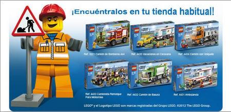 Ya se pueden encontrar en las tiendas los nuevos vehículos de Lego