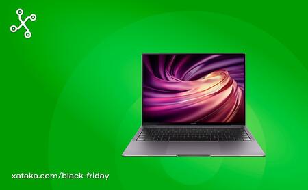 El ultrabook Huawei MateBook X Pro está rebajado a 1.399 euros en Amazon, su mínimo histórico, por el Black Friday