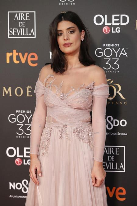 Premios Goya 2019: Dulceida estrena su esperadísmo look y nos deja un poco desilusionadas